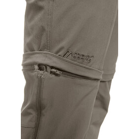 Maier Sports Tajo Pantalon convertible avec fermeture éclair Homme, teak